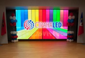 Видеостена LED для банков
