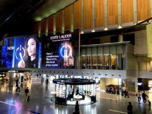 LED Инфотабло в аэропорте