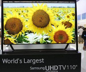 Samsung не стал предлагать миру 120 дюймов