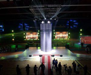 Светодиодный экран для сцены для бала чемпионов в Якутске