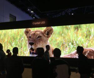 Светодиодный экран P1.2mm Crystal LED